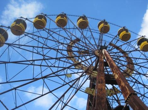 Iconic Pripyat ferris wheel