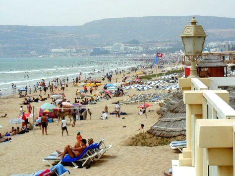 Agadir beach (credit Joao Maximo)