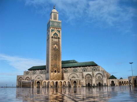 Casablanca's Grand Mosque (Courtesy of miriadna.com)