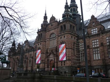 Exterior of the Nordiska Museet