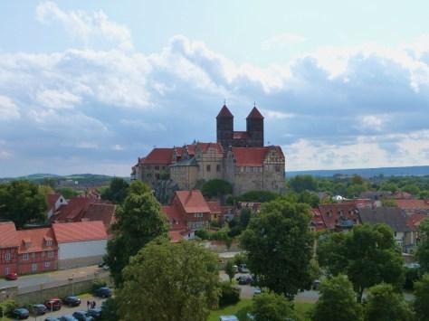"Schlossberg, the ""castle"" in Quedlinburg"
