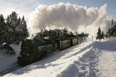 The Brocken Railway (Credit: Harzer Tourismusverband)
