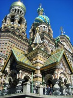 Church on Spilled Blood in summer