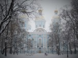 St. Nicholas Naval Cathedral snow