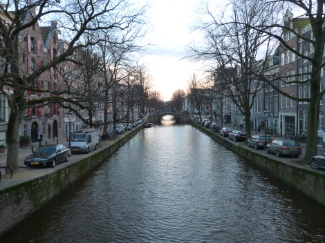 I have had two brief glimpses of Amsterdam