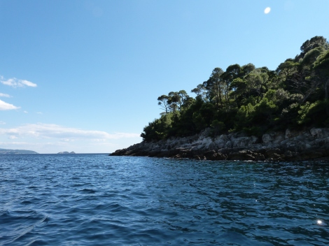 A short boat trip - and a world away - from the crowds