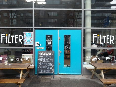 Filter coffee shop