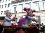 Rosenmontag parade in Dusseldorf