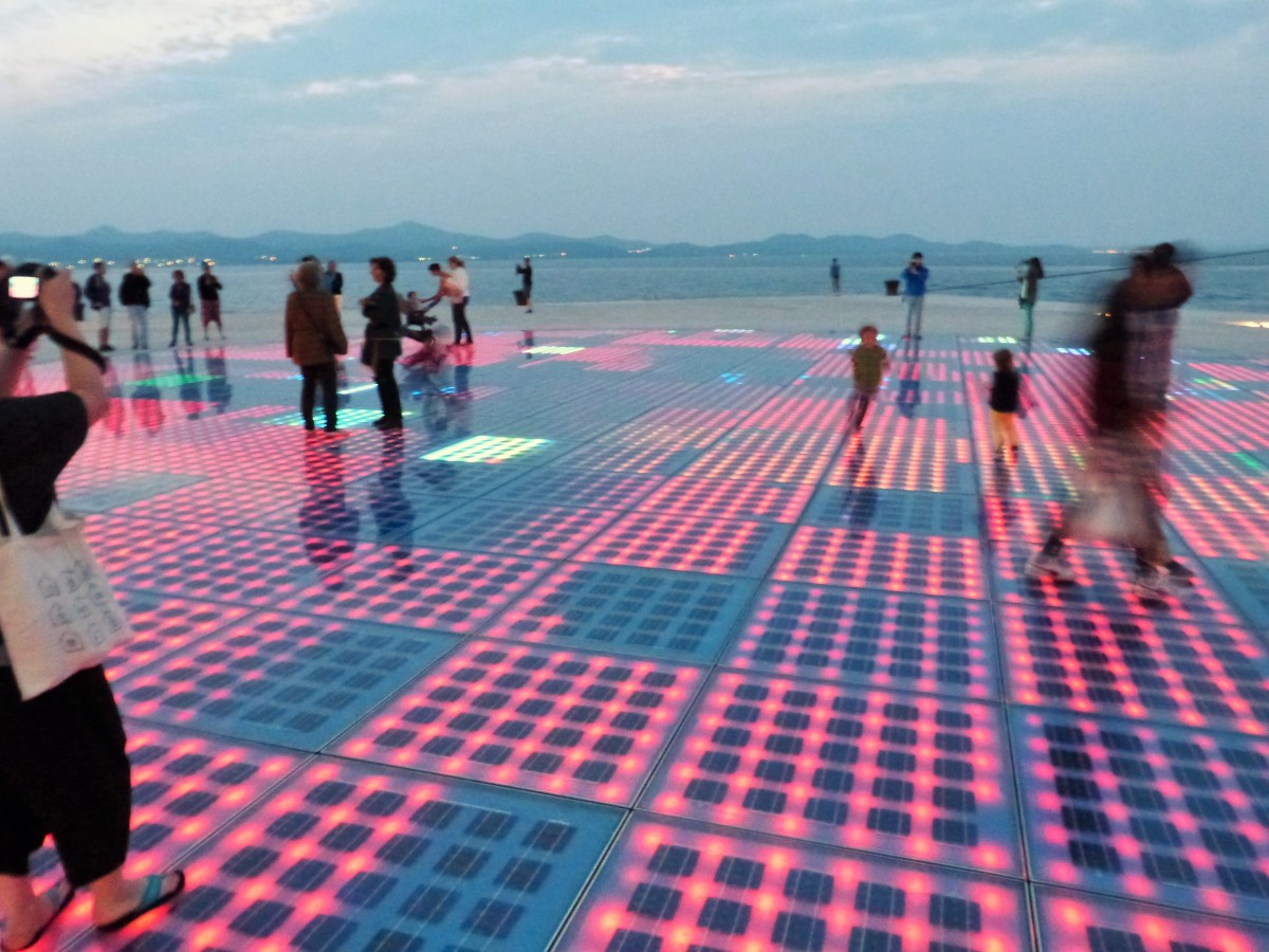 Music & light: Zadar's Sea Organ and Sun Salutation