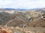 Driving Atlas Mountains road