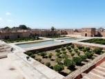 View of El Badi ruins