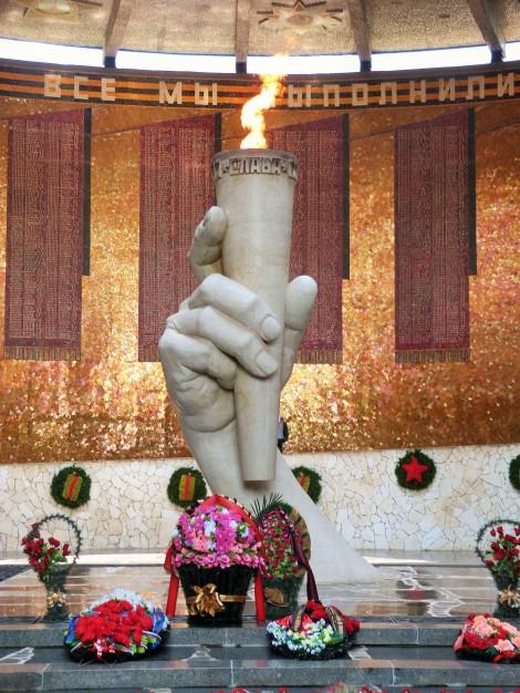 Eternal Flame, Mamayev Kurgan, Volgograd