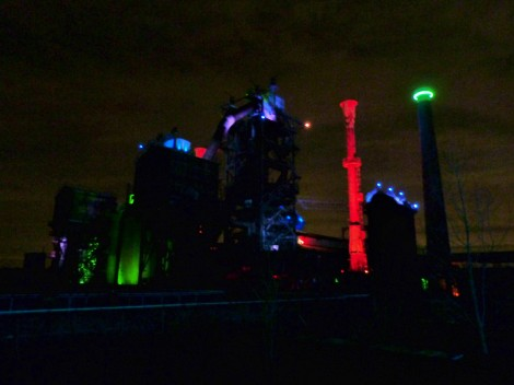 Photos of Landschaftspark at night