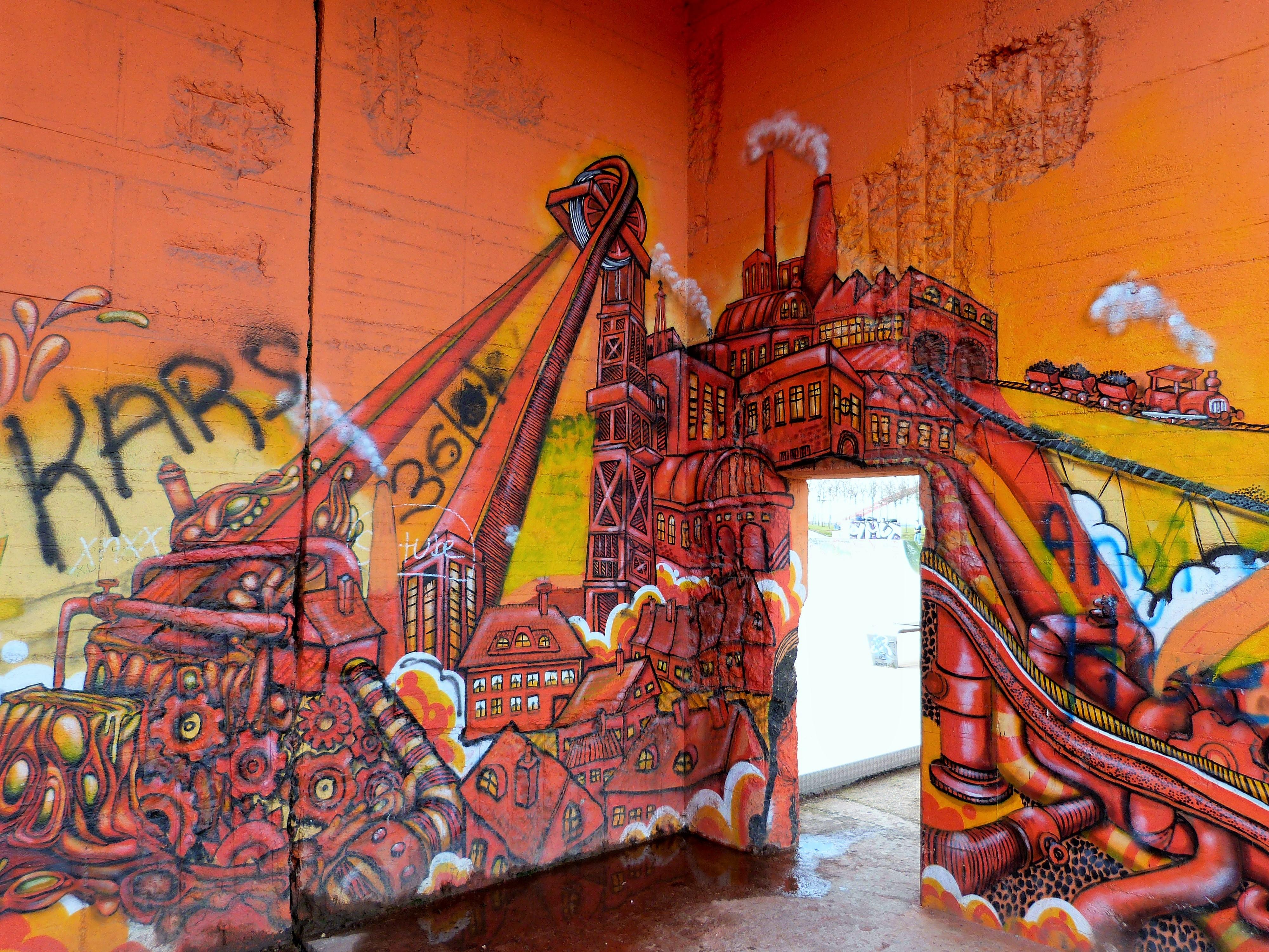 Graffiti Duisburg rheinpark graffiti duisburg 4 continental breakfast travel