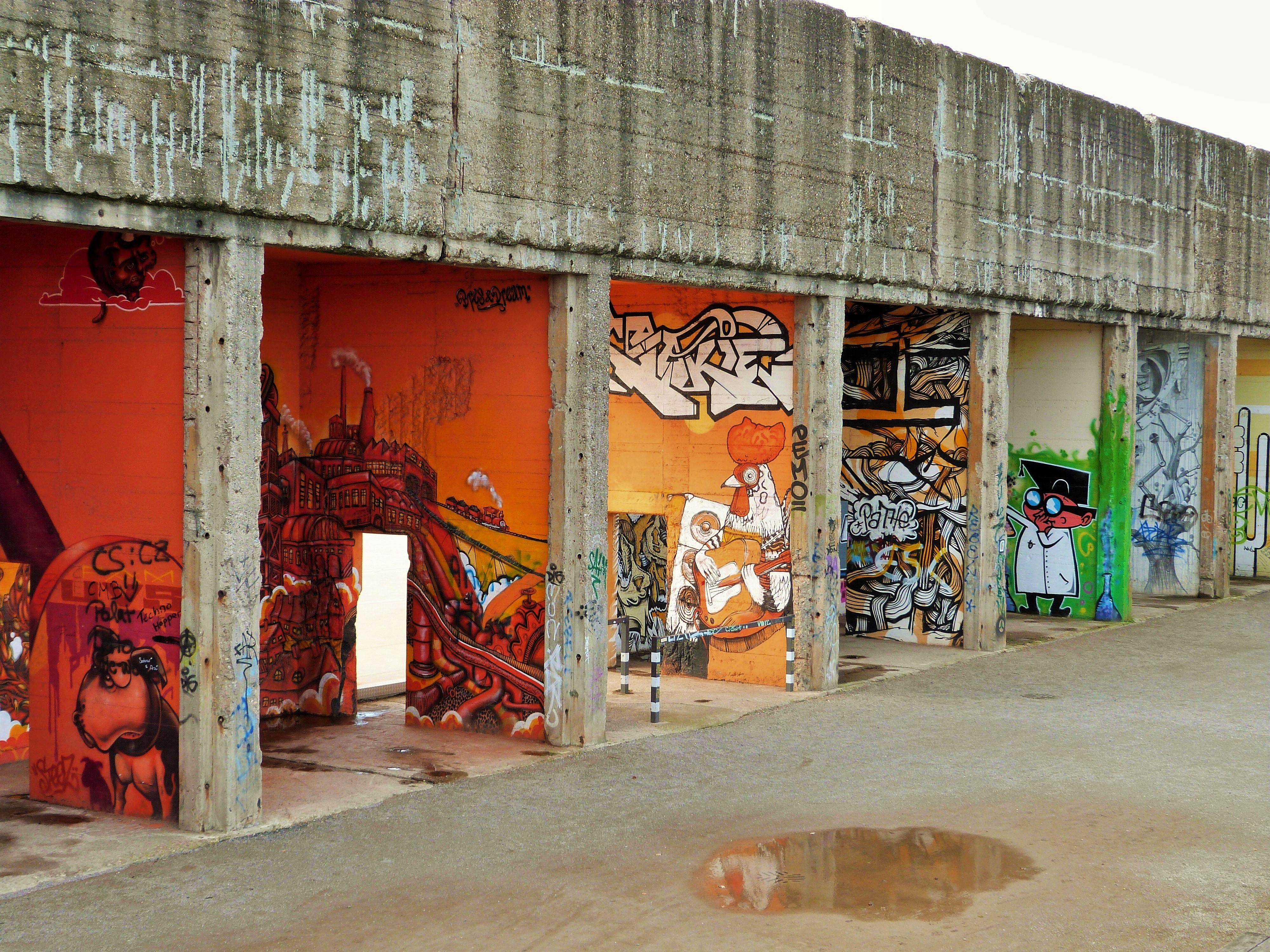 rheinpark graffiti duisburg continental breakfast travel