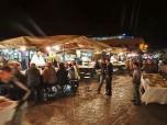 Food stalls, Jemaa el-Fna, Marrakech