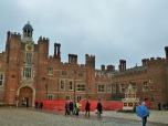 Hampton Court chimneys