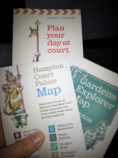 Hampton Court guides