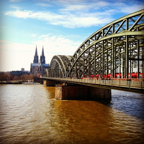 Kolner Dom & Hohenzollern Bridge, Cologne
